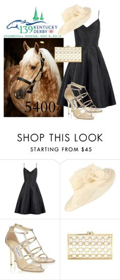 """""""5400 ~ Kentucky Derby"""" by amymorgan1999 ❤ liked on Polyvore featuring Halston Heritage and Charlotte Olympia"""
