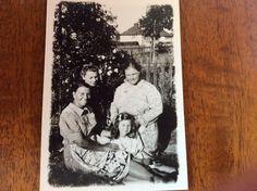 Louisa Bizley nee Beckhuson, Marie Bizley, Edith Emily Mutch nee Beckhuson and Julia Mutch circa 1938