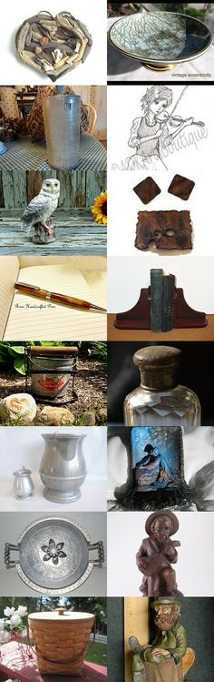 Rustic Finds by Whimsy on Etsy--Pinned with TreasuryPin.com