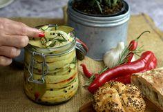 Pickles, Feta, Cucumber, Pickle, Zucchini, Pickling