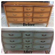 dresser /q is for quandie / miss mustard seed's milk paint