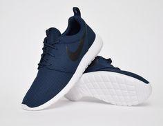 #Nike Roshe Run Midnight Navy #sneakers