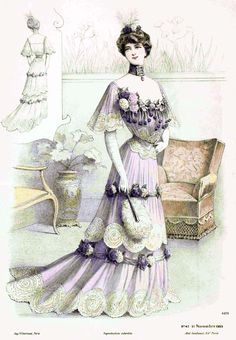 TOP (THIS SITE is PRETTY & GOOD INFO)        Vintage Fashion Plate