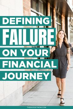 Too often, we let failure become a stumbling block on our financial journey. Did you really fail, or did you come across a stumbling block that allowed you to learn? #failure #budgetfail #budgettips #financialgoals via @thebudgetmom No Spend Challenge, Money Saving Challenge, Money Saving Tips, Money Tips, Money Plan, Get Out Of Debt, Budgeting Money, Money Management, Personal Finance