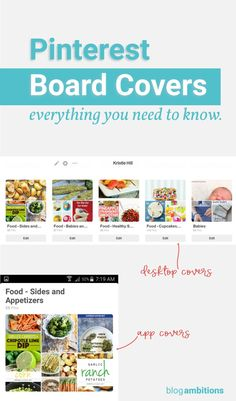 Get the low down on how to change Pinterest board covers, re arrange them for mobile and desktop, and any new updates on Pinterest cover images - post is updated frequently