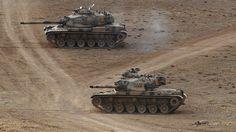 Tanques del ejército turco.