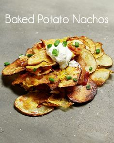 Baked Potato Nachos