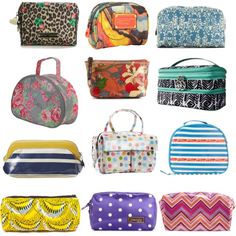 Our 12 favorite summer cosmetic bags