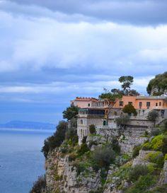 On The Road into Sorrento - Montechiaro, Campania, Italy