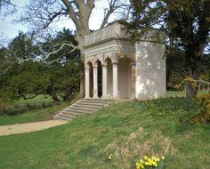 Temple at Hardwick Hall, UK Amazing Gardens, Beautiful Gardens, Garden Structures, Outdoor Structures, Garden Pavilion, Italian Garden, She Sheds, Small Buildings, Garden Architecture