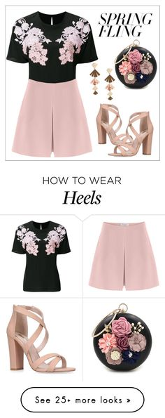 """""""Untitled #593"""" by rexhepnuhiji on Polyvore featuring Dolce&Gabbana, Stella + Ruby, Miss KG, Valentino and WithChic"""