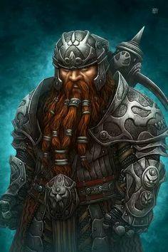 Storm Galewind, warrior priest of Loki