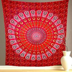 Parvati Mandala. This piece will take you deep into your own self and brings out the vibrant you. Available at our website.