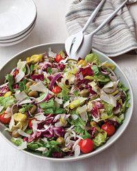 Big Italian Salad Recipe @colavitaevoo @Colavita