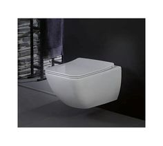 Venticello bathroom ceramics are the straightforward answer to individual questions about perfect functionality in the bathroom. Villeroy & Boch has . Wc Sitz, Wall Mounted Toilet, Villeroy, Outdoor Lighting, Sweet Home, New Homes, Bathtub, Indoor, Wood