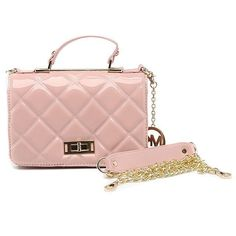 Michael Kors Sloan Quilted Large Pink Shoulder Bags I have one of their bags... so gorgeous and amazing!