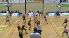 Beelden van de wedstrijd tegen PeelPush; gewonnen met 2-3.
