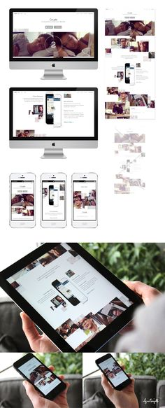Couple Full Concept by Ben Johnson #responsive #rwd #webdesign