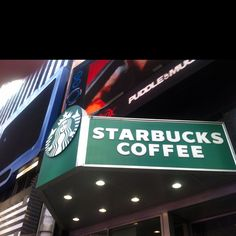 Oh yes, no trip to NYC is right until we find our Starbucks