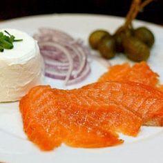 Orange Cured Salmon