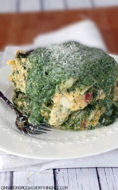 Butternut Squash & Spinach Lasagna