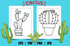 Cactus Coloring Page for Kids Graphic Wordpress Website Design, Coloring Pages For Kids, Page Design, Cactus, Activities, Inspiration, Kids Coloring Pages, Biblical Inspiration, Coloring Pages For Boys