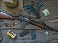 Уинчестър модел 1907 полицейска карабина / Winchester Model 1907 Police Rifle