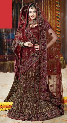 Wedding Wear Bridal Lehenga | Indian Bridal Lehenga Choli |   Bridal Lehenga | Lehenga Choli | Designer Lehenga | Indian Lehenga Choli | Bridal Lehenga Choli | Buy Lehenga Choli Online | Wedding Lehenga Choli | Lehenga | (Price:$468.00)