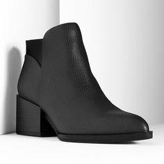Simply Vera Vera Wang Women's Heeled Ankle Booties