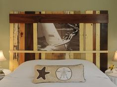 How To Make A Headboard from Salvaged Wood | DIYNetwork.com