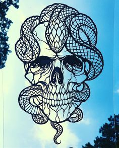 So here it is!.. the dude I've been working on, cut from paper by hand ⚔️⚔️ photographed on glass. Message me if interested.. #paperart #skull #snake #peaceofpaper1 #paper #artist #artfido #arts_help #artofdrawingg #artcollective #artgallery #artoftheday #arte #artofvisuals #artdaily #skulls #deatheater #skullart #draw #etsy #instagram #instaart #nawden #voldemort #silhouette #tattoo #worldofartists #cutout #art_collective #snakes
