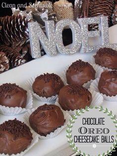 chocolate cheesecake oreoballs