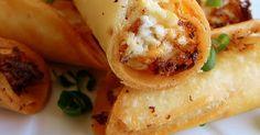 Mexican- Taquitos de papa con chorizo