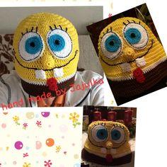 Crochet Spongebob hat