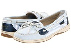 I mean if I'm going to buy boat shoes I might as well go as nerdy nautical as I can. Sperry Top-Sider Angelfish