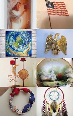 God Bless America!, Spiritual Elegance Team by Pam Maggio on Etsy--Pinned with TreasuryPin.com
