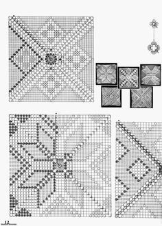 crochet motifs squares for blanket Magic Crochet nº 17 - leila tk Image gallery – Page 357543657889819081 – Artofit Crochet Motifs, Crochet Square Patterns, Crochet Blocks, Crochet Diagram, Crochet Squares, Crochet Chart, Crochet Doilies, Stitch Patterns, Crochet Granny