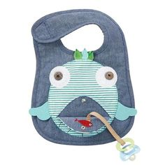 *** FREE SHIPPING OVER $100 for qualifying orders (see below) You'll be sure to smile every time you use this chambray bib with long pile minky back features co