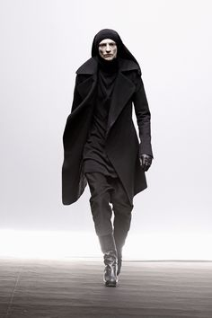 Rick Owens . dystopian styled