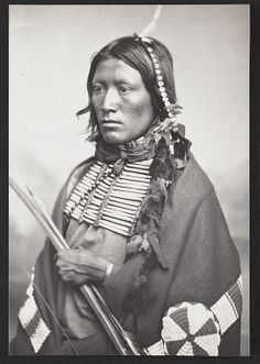 Brave, Kiowa-Apache photographed by William Stinson Soule Native American Pictures, Native American Beauty, Native American Tribes, Native American History, American Indians, Native Americans, Navajo, Native Indian, Blackfoot Indian