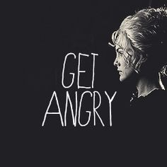 Don't Get Frightened...Get Angry - Susan Sto Helit, Hogfather