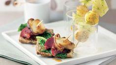 Brochettes de Saint-Jacques et fenouil