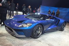 The all new Ford GT uses V6 EcoBoost with over 592bhp, carbon-fibre tub and body panels and will enter production in late 2016