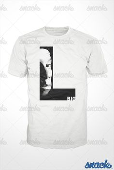 Big L Rap Hip Hop TShirt  lamont coleman tee shirt dj by GetSnacks, $16.99