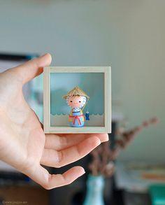 muñeca en masa flexible japonesa