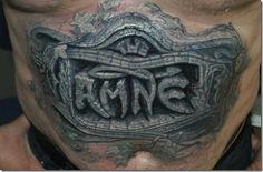 Pipoca de Bits: Excelentes tatuagens realísticas