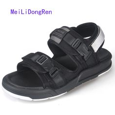 ==> [Free Shipping] Buy Best Casual Sandals Men 2017 Vietnamese Shoes Romen Summer Outdoor Beach Shoes Flip Flops Male Slippers All Match Large Size Online with LOWEST Price | 32792151954