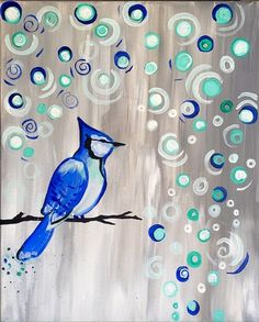 Baby, It's Cold Outside by Jessie Olson - Paint Nite