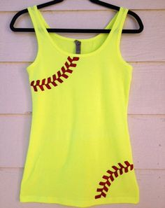 Cute softball tank top #softball http://www.etsy.com/listing/153217394/rhinestone-softball-mom-shirt-tank-top