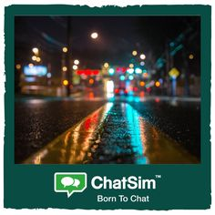 Chris C. from U.K. London awaits us. Shared with ChatSim App used: Messenger - Credit used: 15 (photo size 150 KB)